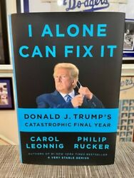 I Alone Can Fix It: Donald J Trump#x27;s Catastrophic Final Year HARDCOVER 2021 $19.50