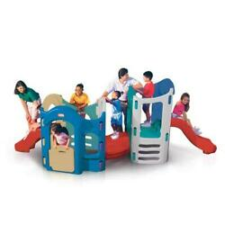 Little Tikes 8-in-1 Activity Climber Playground Kids Jungle Gym For Toddlers New