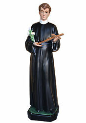 Statue Saint Gerard Cm 125 In Fibreglass With Eyes Of Glass Made In Italy