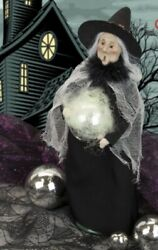 Byers Choice 2021 Halloween Witch With Ball 🎃🎃limited Edition New