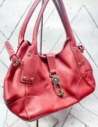 dooney and bourke red leather purse $40.00