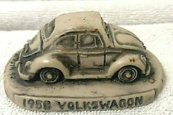 Georgia Marble Figurine Sculpture 1958 Volkswagen Limited Edition No 443 Of 3000