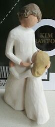 Willow Tree Andldquomother And Daughterandrdquo Figurine By Susan Lordi Demdaco 2000 Retired