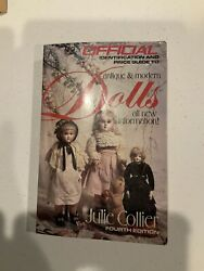 Official Identification And Price Guide To Antiqu And Modern Dolls-1988-paperbac