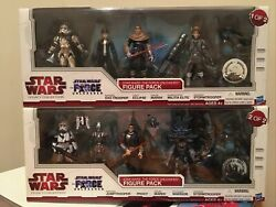 Star Wars The Force Unleashed Toys R Us Exclusive Figure Packs 1and2 Vhtf 🔥🔥👀