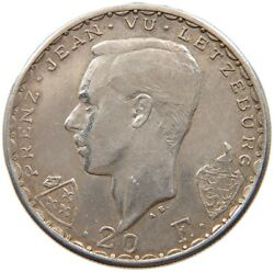 Luxembourg 20 Francs 1946 Top T90 155