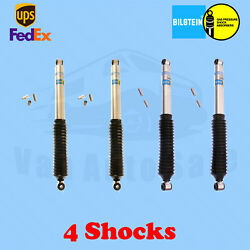 Bilstein B8 5125 2-2.5 Front And 2-4 Rear Lift Shocks For 76-`83 Jeep Cj5 Kit 4