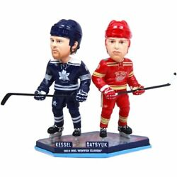 Toronto Maple Leafs And Detroit Red Wings 2014 Winter Classic Bobble Head 8 Nib