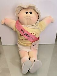 1981 New Ears Baby Xavier Roberts Cabbage Patch Kid Soft Baby Doll