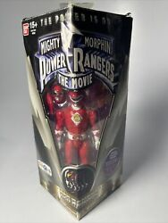 Bandai Mighty Morphin Power Rangers The Movie Red Ranger 5 Legacy Figure New