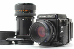 【n Mint- 2lens】 Mamiya Rz67 Pro W/ Sekor Z 110mm F2.8 And Zoom,120 Back From Japan