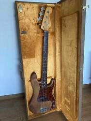 [refinish To Oil Finish] Fender Usa American Vintage 62 Precision Bass Made In 2