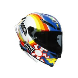 Agv Pista Gp Rr Dash Winter Test 2005 Rossi Limited Edition Motorcycle Helme...