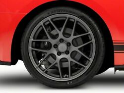 American Muscle Amr Rear Wheel In Charcoal 20x10 Fits Mustang 15-20 Gt Eco V6