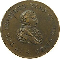 Great Britain Token 1810 50th Year Of Reign Geroge Iii. Kettle T138 095