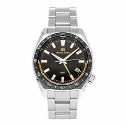 Grand Seiko Sport Collection Gmt Limited Edition Steel Quartz 40mm Sbgn023