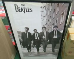 Beatles Poster New 2013 Original Rare Vintage Collectible Oop Fab 4