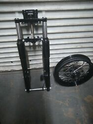Harley Softail Heritage Front End With Abs Sensor Brakes And Wheel Axle