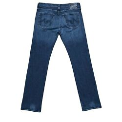 Ag Adriano Goldschmied The Protege Straight Leg Mens Jeans Sz 34x34 Made In Usa