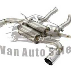 Axle-back Exhaust System Afe Power For Bmw 335i E90 N55 Engine 2011