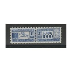 1954 Packs Post 1000 Lire Cavallino Excellently Centred Mlh Carraro Mf90770