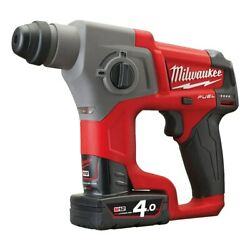 Milwaukee M12 Ch-402x Fuel Compact Sds-plus Rotary Hammer Drill