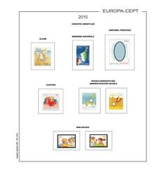 Stamp Pages Europe C.e.p.t Filkasol Themed - Unmounted - Europa