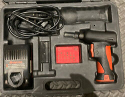 Snap-on Cts561 7.2v 1/4 Cordless Screwdriver, Plastic Case, Charger, Battery