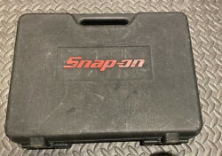 Snap On Cordless Screwdriver Empty Case Ctsu561 With Manual