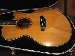 [equipped With A Condenser Microphone] Yamaha Cpx-15 Akogi Ereaco Acoustic Guita