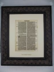 1541 Great Bible Leaf Book Of John 316 For God So Loved The World Cranmer