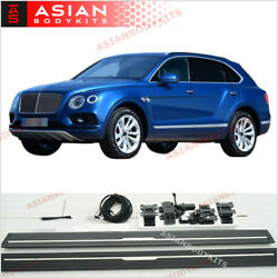 Electric Side Step Deployable Running Boards For Bentley Bentayga 2015 - 2020