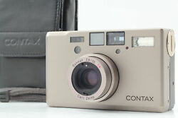 【exc+5 Soft Case Strap】 Contax T3d T3 D Double Teeth Film Camera From Japan U206