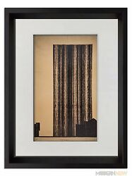 Mies Van Der Rohe Ltd Lithograph -glashoch Hause And03921 Sign +custom Frame 18x24andrdquo