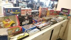 Nascar And Model Car Huge Lot Of Collectible Cars And Toys + More