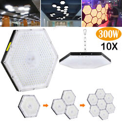 10x300w Chain Led High/low Bay Lights Factory Warehouse Industrial Lighting Lamp