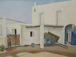 Painting Signed White Home