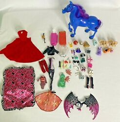 Monster High Clothes Shoes Accessories Limbs Pets And Horse Euc