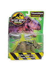 New 1997 Triceratops Trike The Lost World Jurassic Park Kenner Figure Sealed