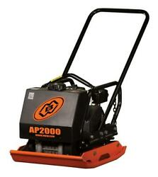 Mbw 2000ah 168lb Plate Compactor With Water Tank And Honda Gx160 Engine
