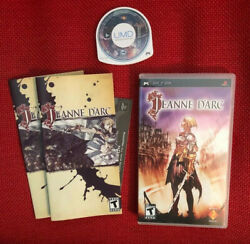 Jeanne D'arc 2007 Sony Psp Tested Complete W/ English And French Manual