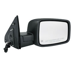 09-12 Ram Truck Mirror Power Heated Black W/turn Signal Puddle Lamp Right Side