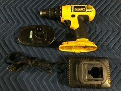 Dewalt Dc970 18v 1/2 Cordless Compact Drill/driver+ Battery Dc9098 And Dw9116