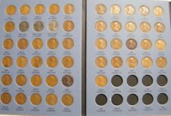 Complete Lincoln Wheat Penny Cent Collection Whitman Album 1941 - 1958 P D S Set