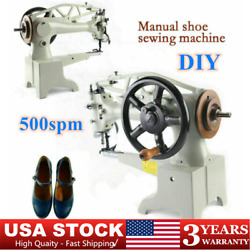 11.8'' Manual Diy Patch Leather Sewing Machine Shoe Repair Boot Patcher Throat