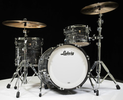 Ludwig Classic Maple Downbeat 3pc Shell Pack Vintage Black Oyster