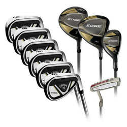 ✅✅callaway Edge 10-piece Menand039s Golf Club Set10.5 Regular Left Or Right Handed✅✅
