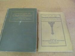 Two Antique Mormon Lds Books Essentials In Church History And Guide 1922