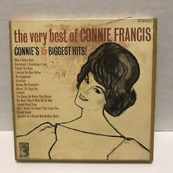 Connie Francis The Very Best Of Reel To Reel Tape 7 1/2 Ips