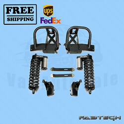 6 Front Ss 4.0 Coilover Conversion Syst Fabtech For Ford F350 4wd 05-07